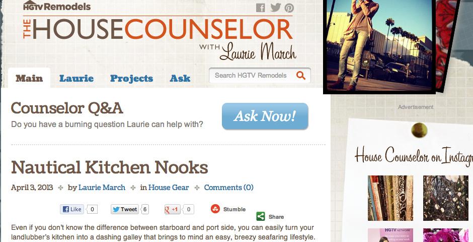 2013 Webby Winner - HGTV Remodels\' House Counselor
