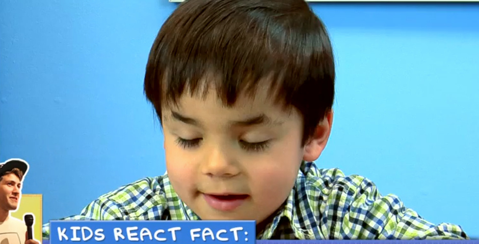 2013 Webby Winner - Kids React
