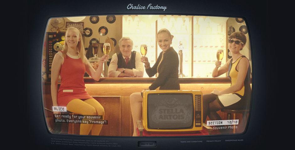 People's Voice - The Stella Artois Chalice Factory