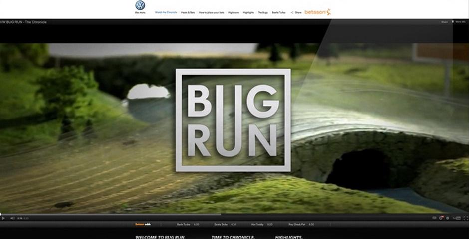 Webby Award Nominee - Bug Run