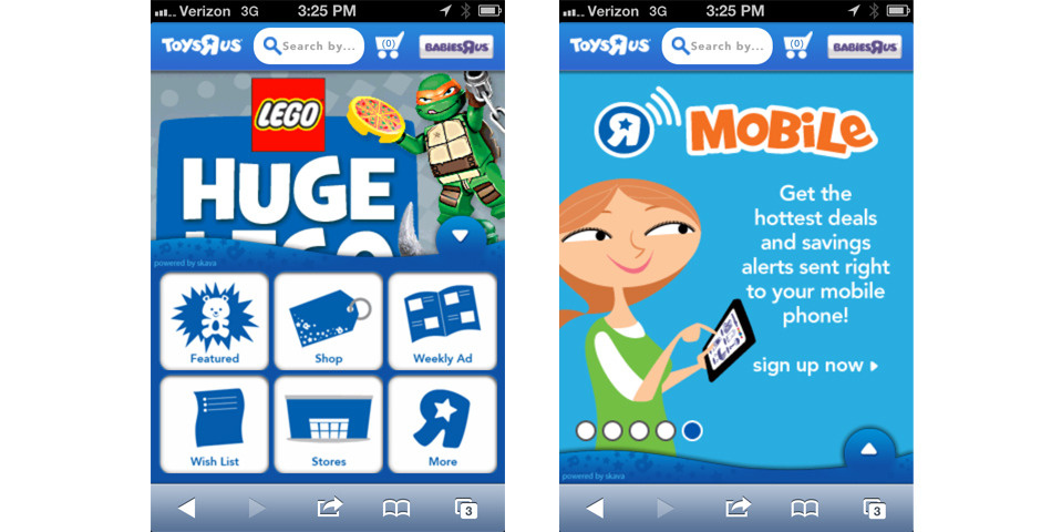 "Nominee - Toys""R""Us Mobile Website and App"