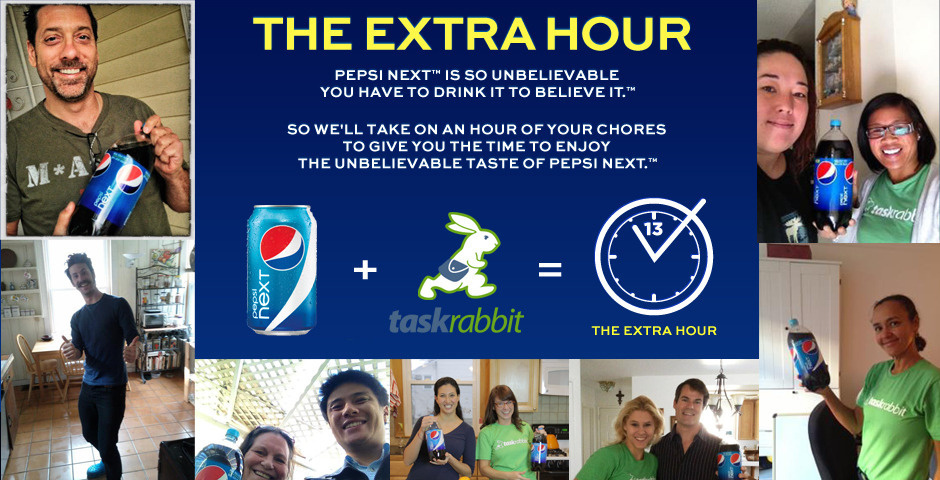 2013 Webby Winner - Pepsi NEXT: The Extra Hour