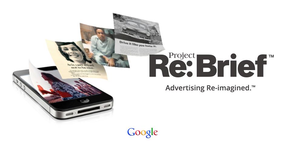 Webby Award Winner - Project Re: Brief