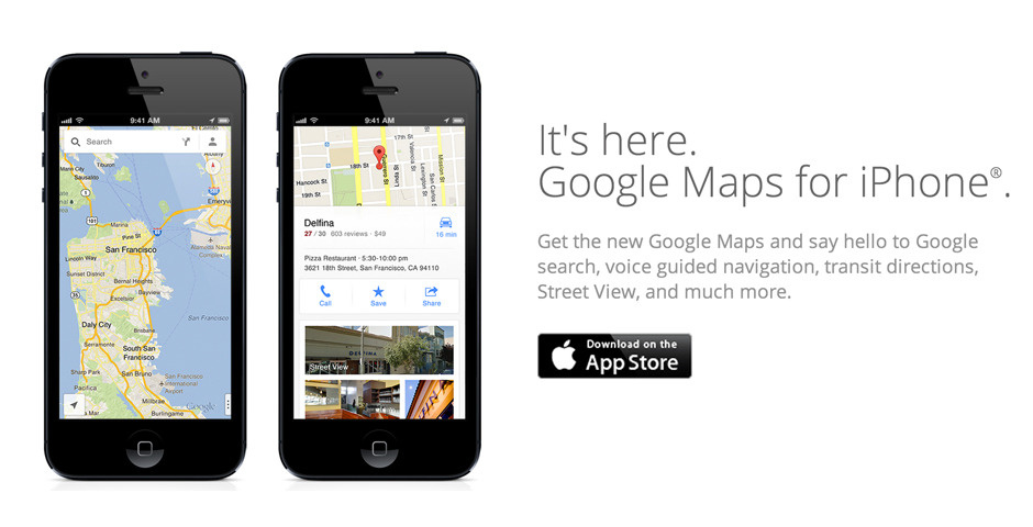 People's Voice - Google Maps for iPhone