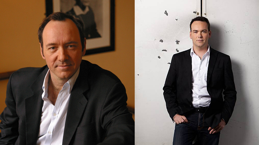 Kevin Spacey & Dana Brunetti