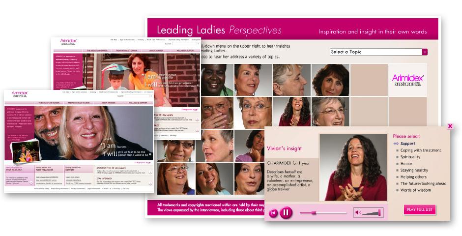 2009 Webby Winner - Leading Ladies