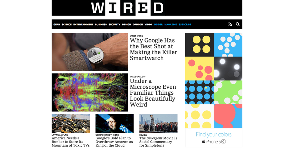 People's Voice / Webby Award Winner - WIRED.com