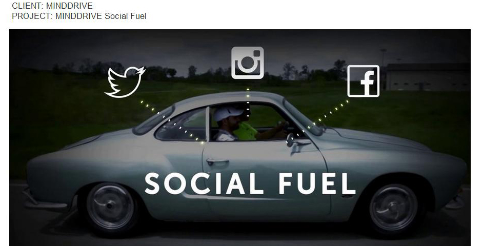"Nominee - MINDDRIVE ""Social Fuel"""