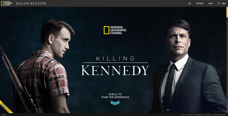 Webby Award Nominee - Killing Kennedy