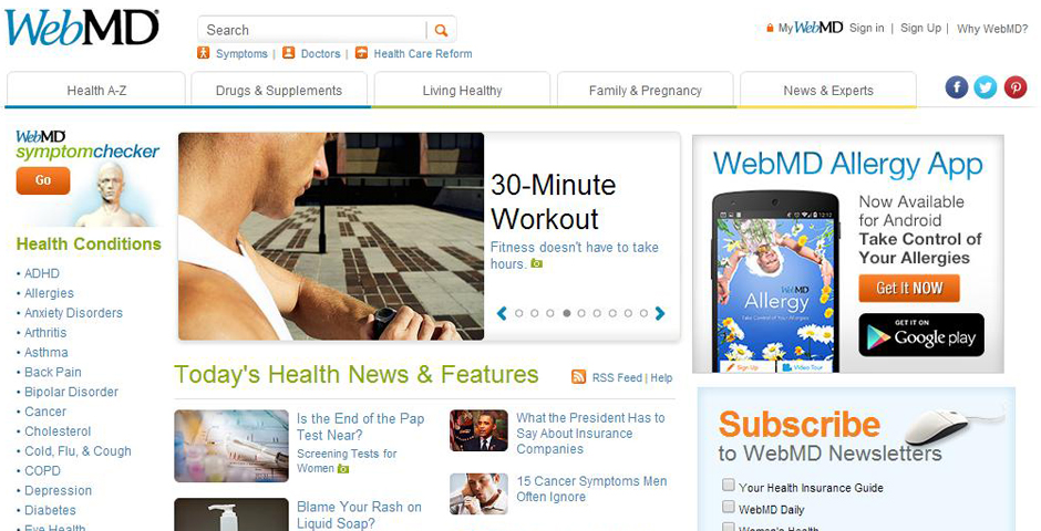 People's Voice / Webby Award Winner - WebMD