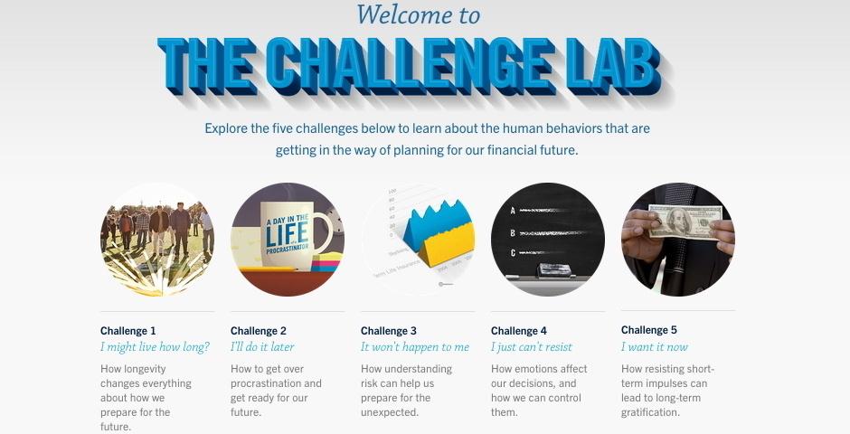 2014 Webby Winner - The Challenge Lab