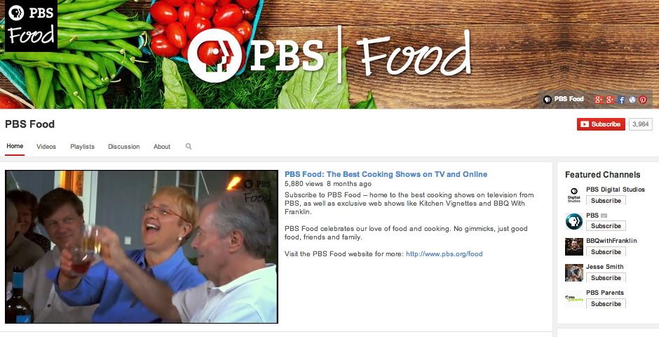 Nominee - PBS Food