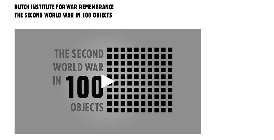 Webby Award Winner - The Second World War in 100 objects