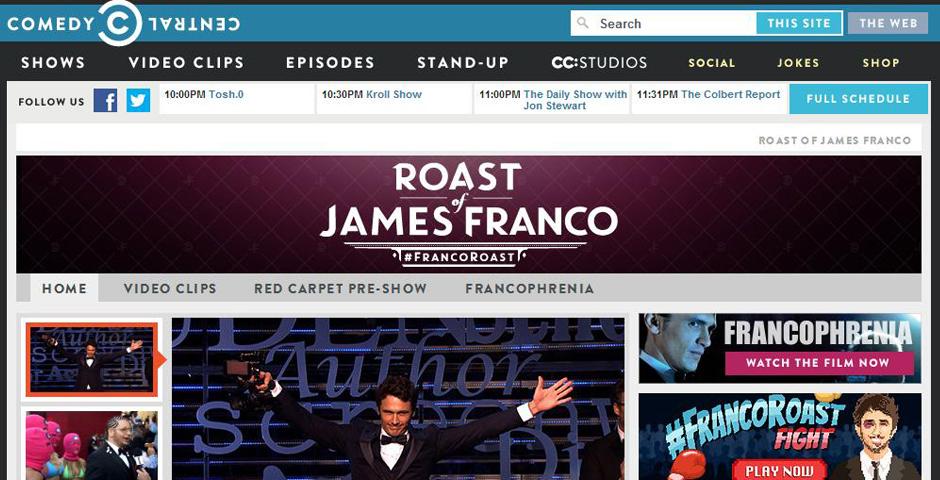 Nominee - Roast of James Franco (#FrancoRoast)