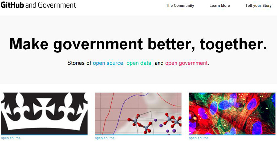 Webby Award Nominee - government.github.com