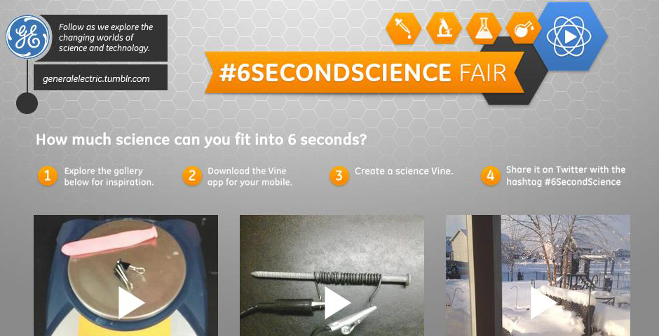 Nominee - #6SecondScience Fair