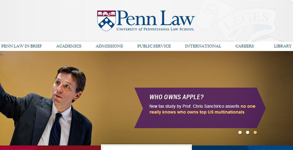 2014 Webby Winner - Penn Law School