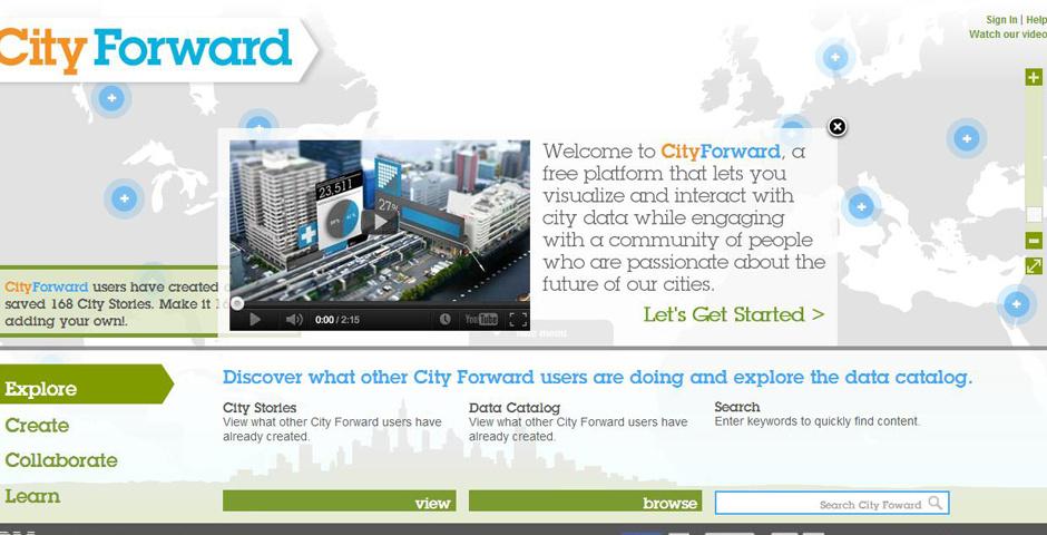 Webby Award Nominee - City Forward