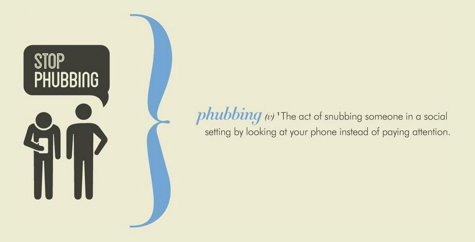 Webby Award Nominee - Phubbing