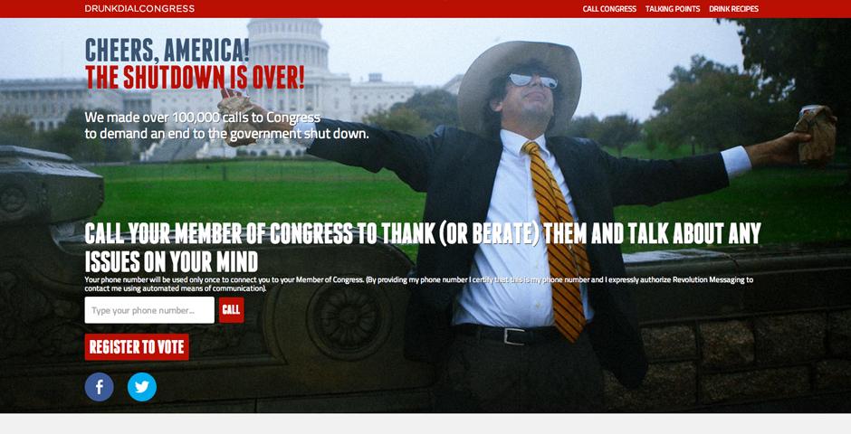 Nominee - Drunk Dial Congress