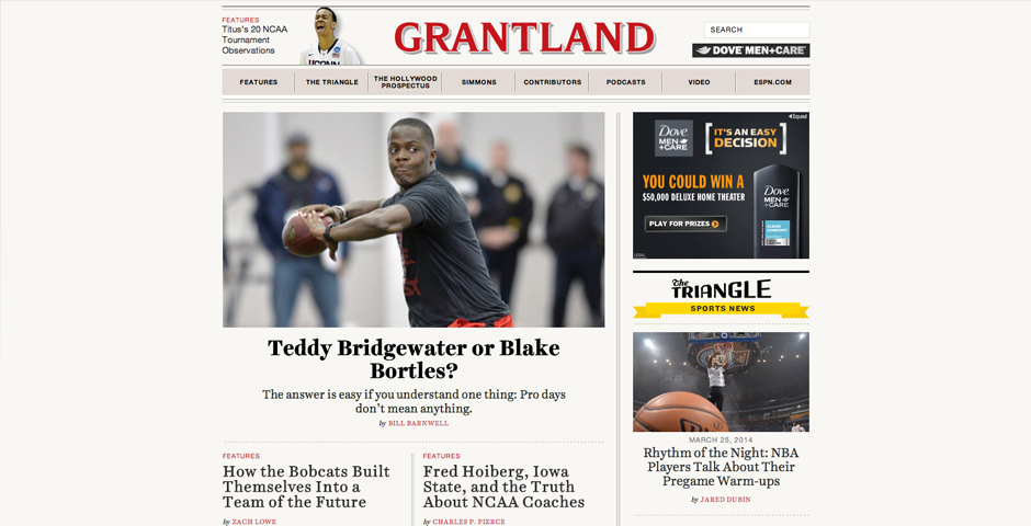 Nominee - Grantland