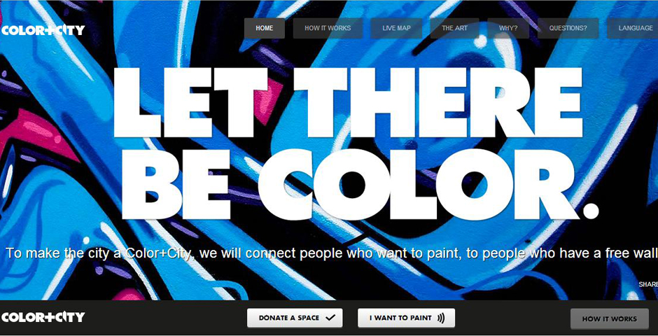 Webby Award Winner - Color+City