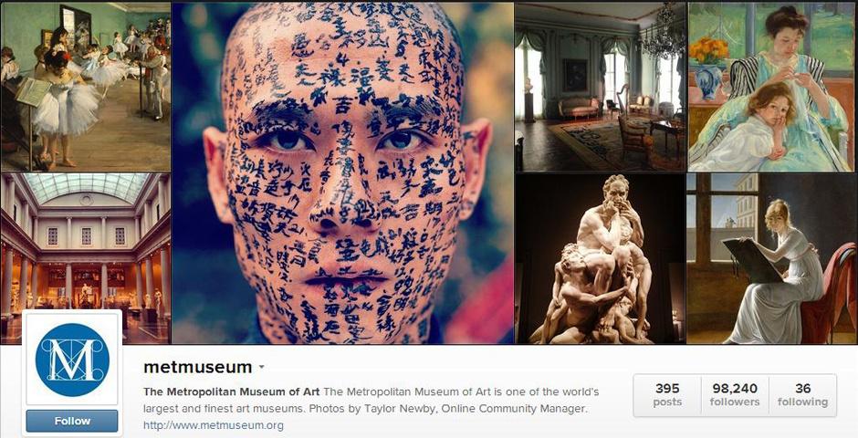 2014 Webby Winner - The Metropolitan Museum of Art