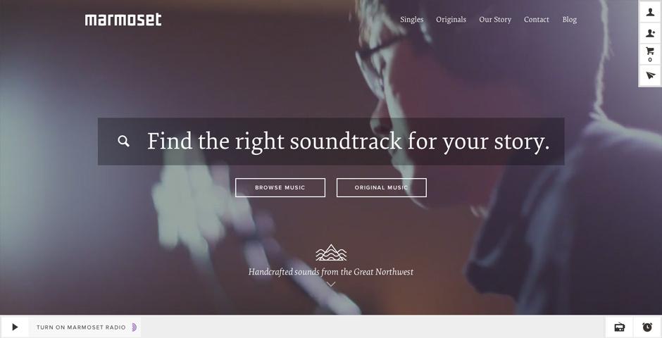 2014 Webby Winner - Marmoset Music
