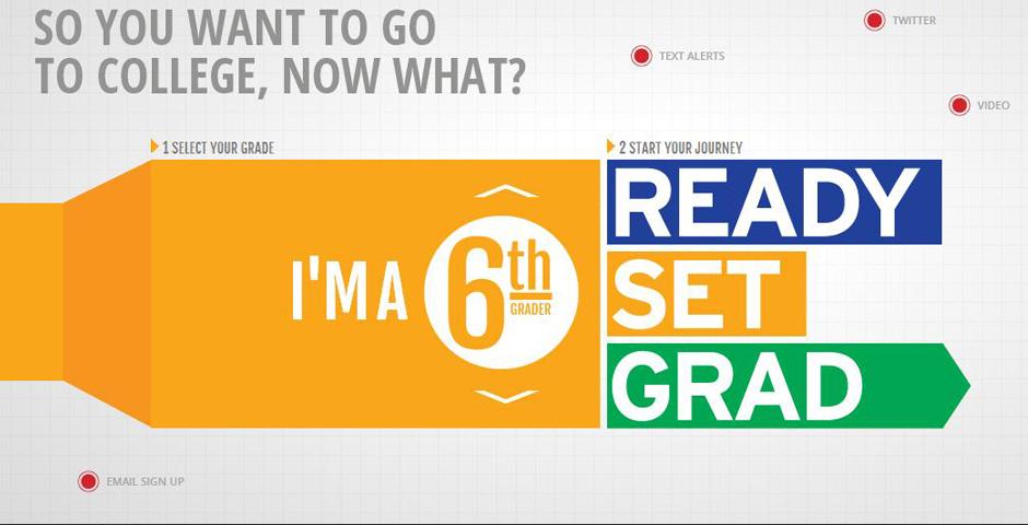 Nominee - Ready. Set. Grad Website