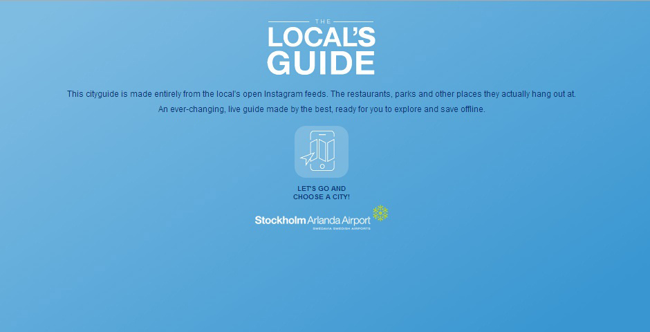 Webby Award Nominee - The Local\'s Guide