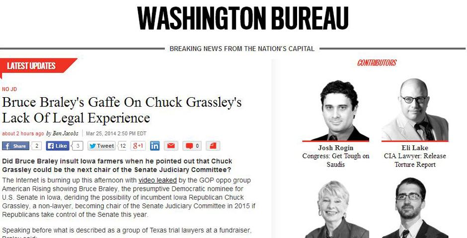 Webby Award Nominee - Washington Bureau