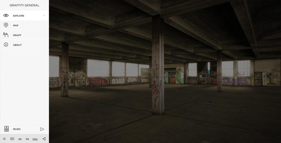 Webby Award Winner - Graffiti General