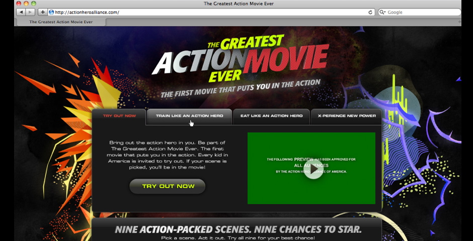 Nominee - The Greatest Action Movie Ever
