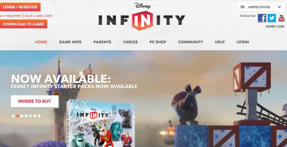Webby Award Nominee - Disney.com/Infinity