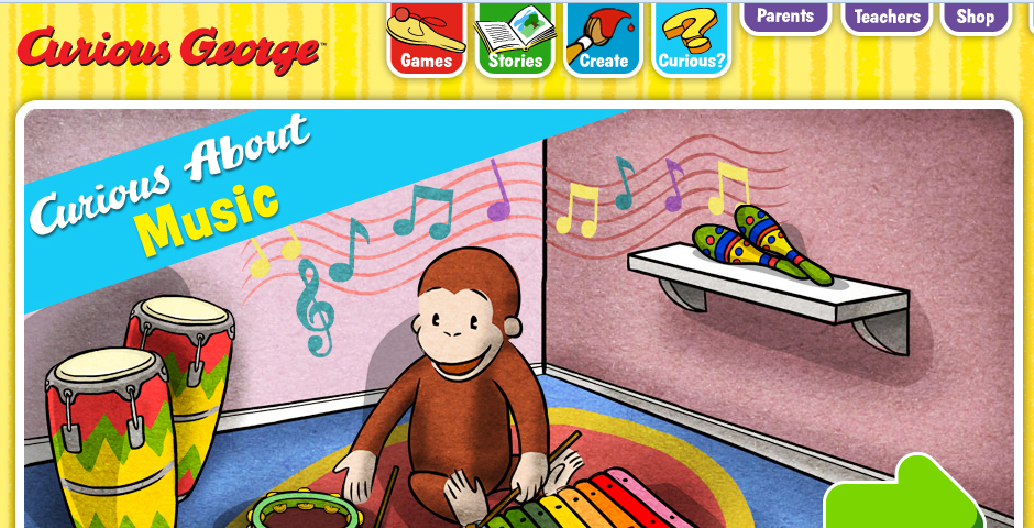 Nominee - CuriousGeorge.com