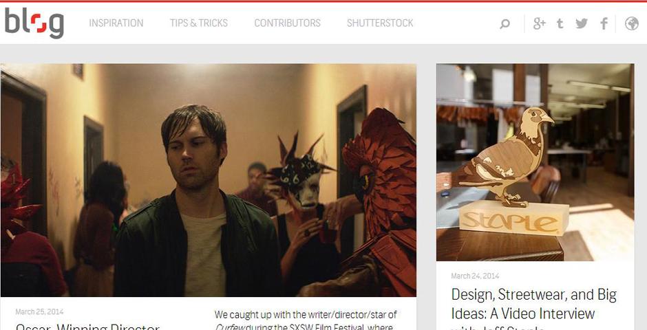 Nominee - Shutterstock Blog