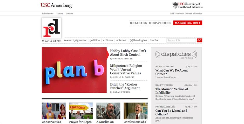 Nominee - Religion Dispatches magazine