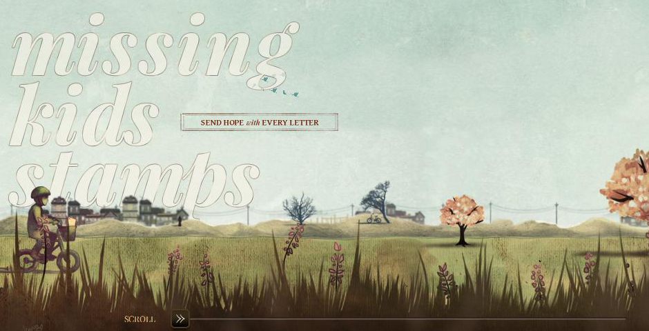 Webby Award Winner - Missing Kids Stamps