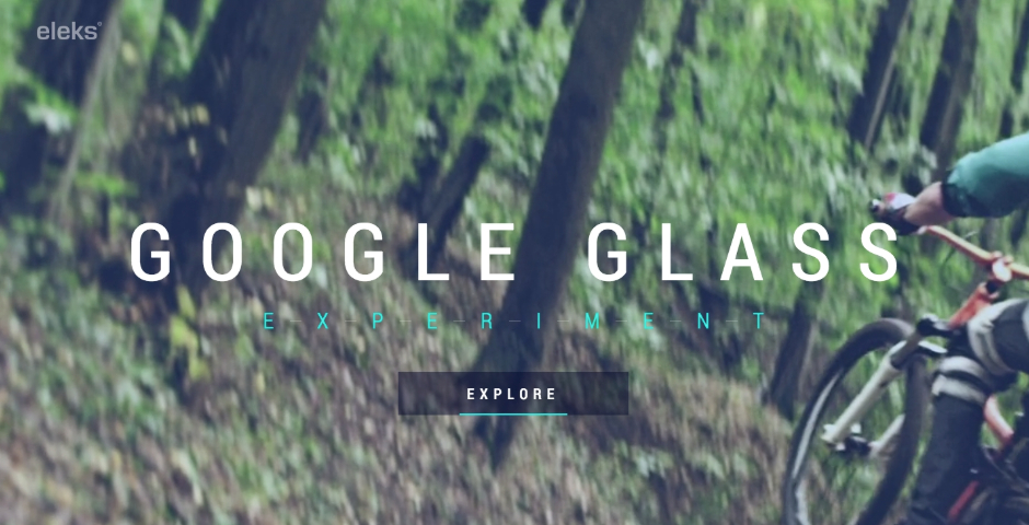 Nominee - ELEKS Google Glass Experiment