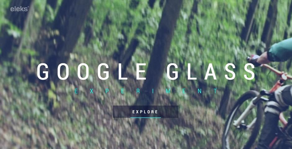 Webby Award Nominee - ELEKS Google Glass Experiment