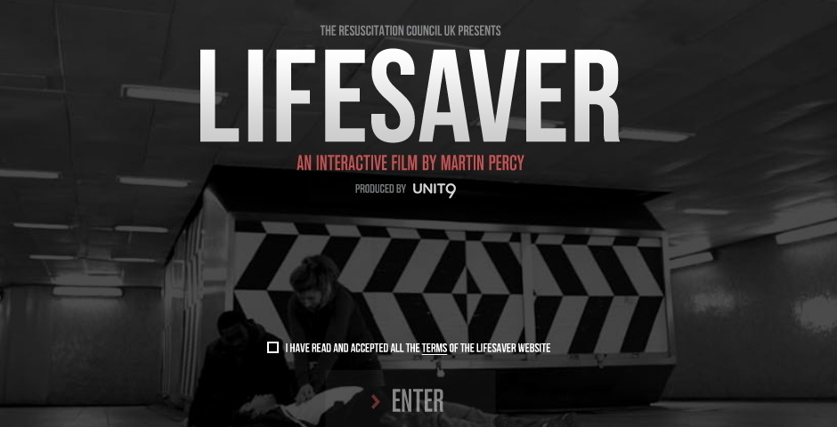 Webby Award Nominee - Lifesaver: A New Way To Learn CPR