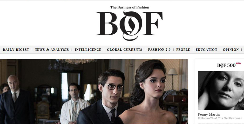 Webby Award Nominee - The Business of Fashion