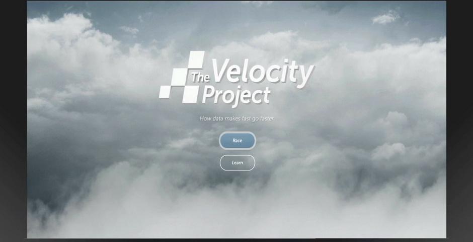 Webby Award Nominee - The Velocity Project