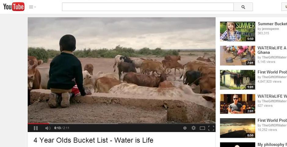 2014 Webby Winner - A 4 YEAR OLDS BUCKET LIST