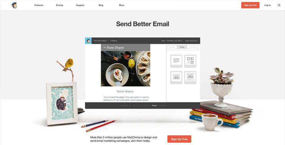 Nominee - MailChimp