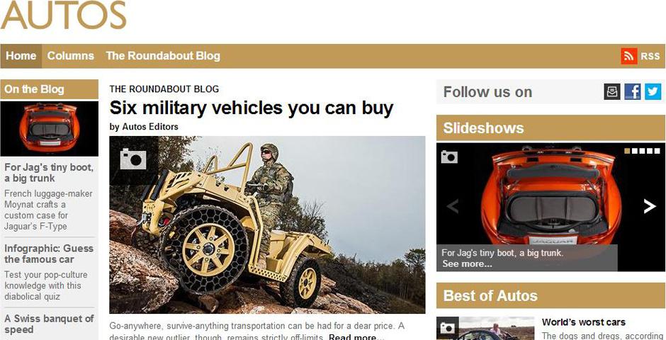 2014 Webby Winner - BBC.com/Autos
