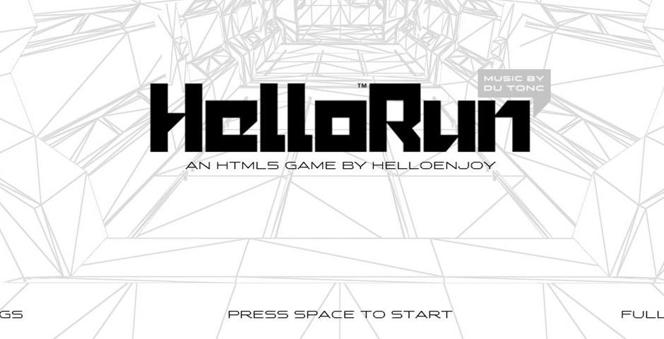 2014 Webby Winner - HelloRun