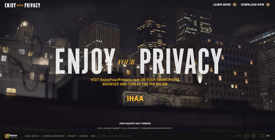Honoree - Enjoy Your Privacy