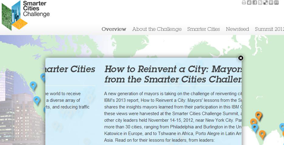 Nominee - Smarter Cities Challenge