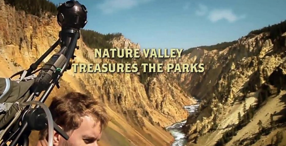 Webby Award Winner - Nature Valley Trail View 2.0